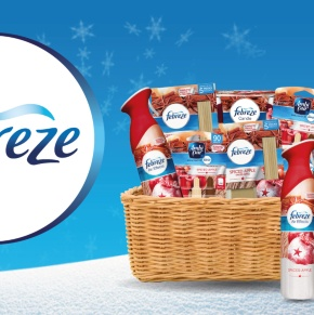 Let Febreze Freshen Your Home in Time for Christmas for Under £14
