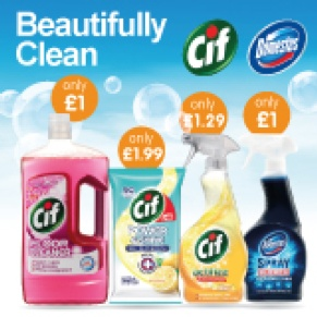 How to Get a Sparkling Clean Home for Less Than £12 at B&M