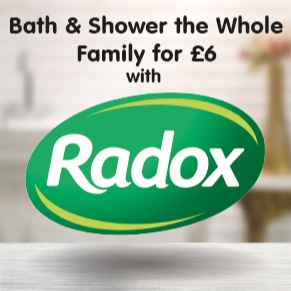 Bath & Shower the Whole Family for £6 with Radox