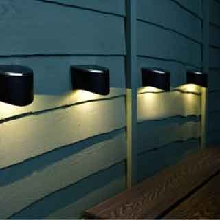Solar Wall & Security Lights