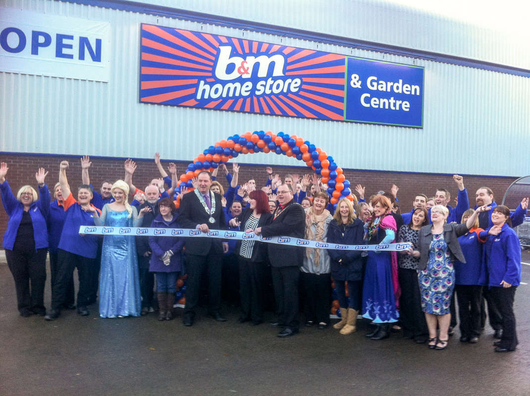 B m lifestyle b m marks arrival with 50 new jobs in cwmbran for Home source store