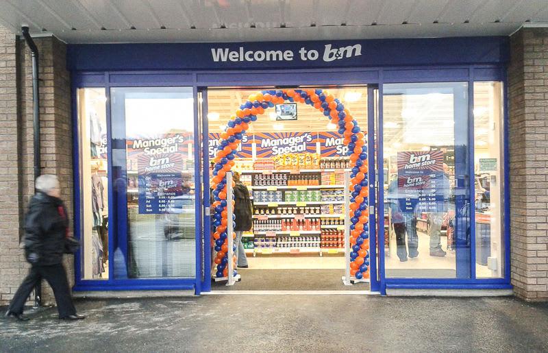 B&M Falkirk Shop in Falkirk