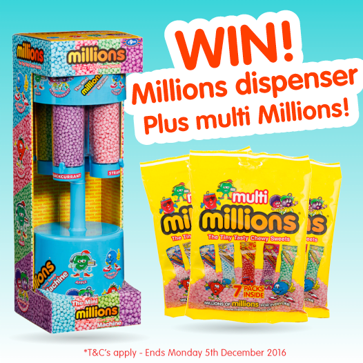 b m lifestyle win it big millions dispenser and multi millions