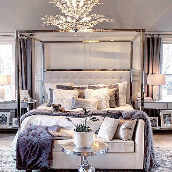 B m blog bedroom decor get the luxe look for less b m for B m bedroom curtains