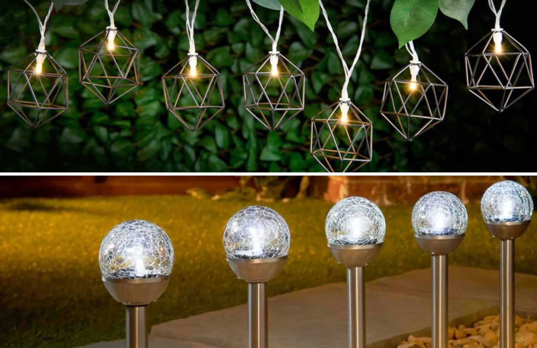 huge selection of 6c241 84e99 B&M Lifestyle | 9 Stylish Solar Lighting Ideas for Your Garden