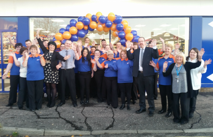 B M Lifestyle Fantastic News For Falkirk As Second B M Store Opens
