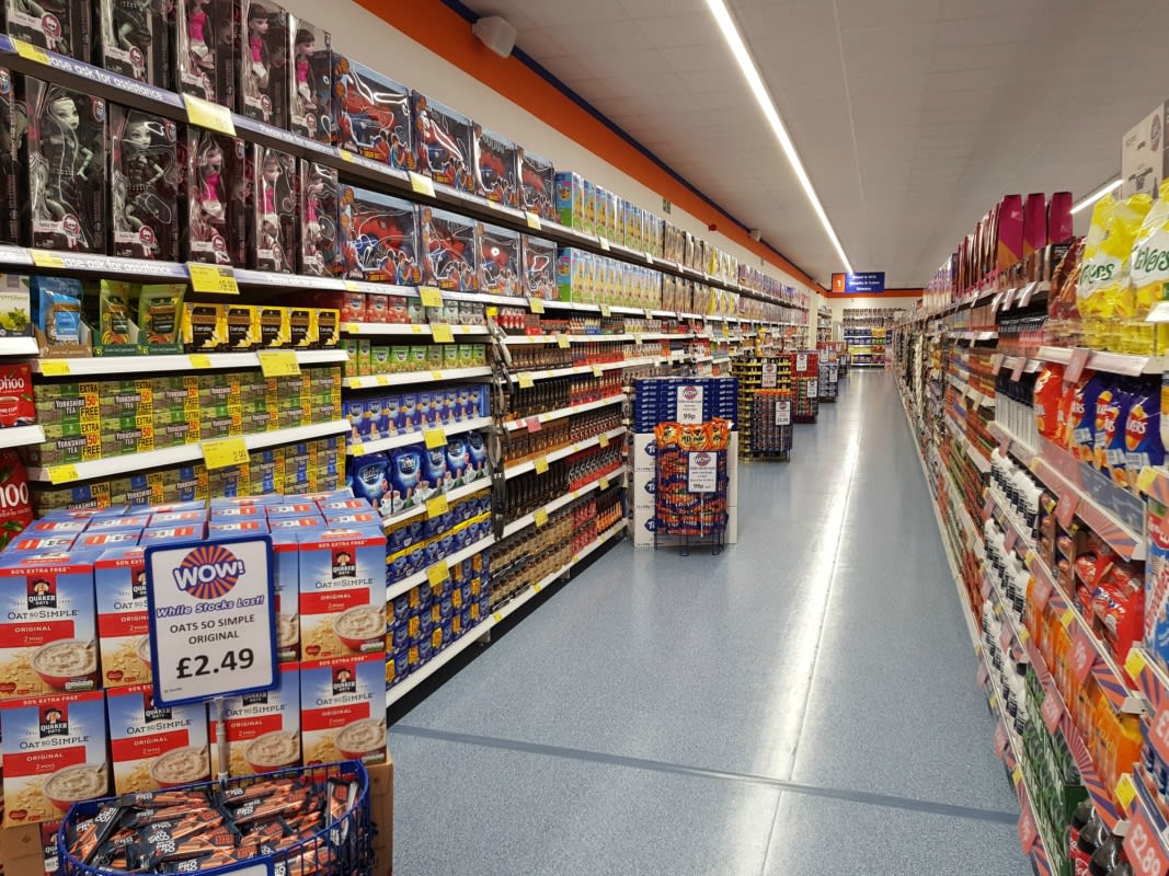 Image result for b&m aisle