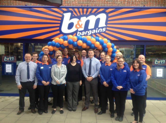 B M Lifestyle B M Celebrates Opening First Store In King 39 S Lynn