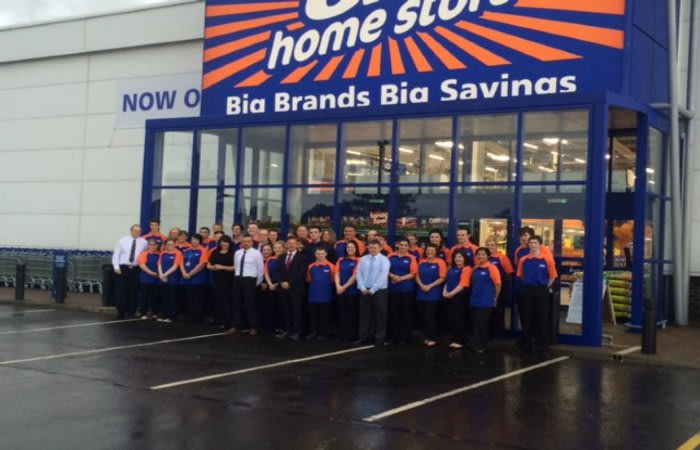 B Amp M Lifestyle B Amp M Home Store Brings 75 Jobs To Dumbarton