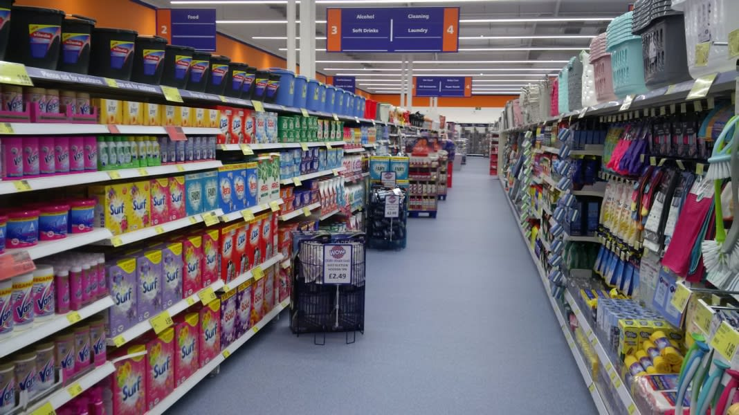 c03d1ec167 B M s newest store in Dudley stocks all the biggest brand cleaning products  at the lowest price