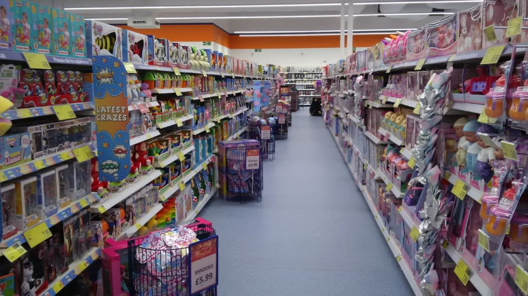 98f8e2087c B M s newest store in Dudley boasts a huge range of this year s must-have  toys