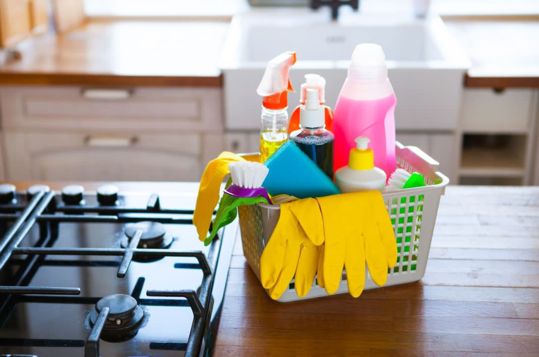 Kit Out Your Kitchen - Cleaning Essentials for Less at B&M