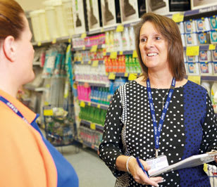 Store manager at B&M stores