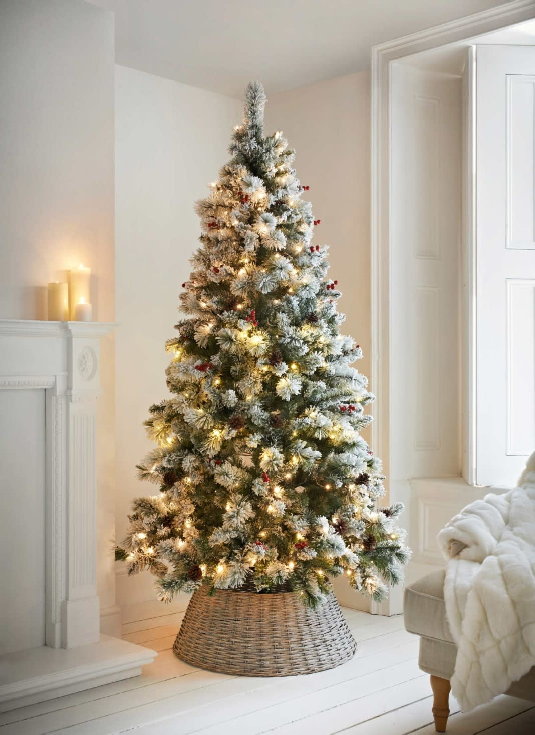 copenhagen pre lit christmas tree 7ft1