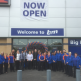 Staff at our new Wednesbury store.