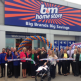 The ribbon being cut at the brand new store in Chester.