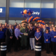 Store staff welcomed representative from Help for Heroes who helped open the new B&M Catterick store. The charity received £250 worth of vouchers as a thank you.