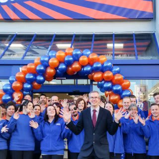 B&M Bexhill store opening with the new team.
