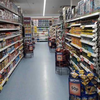 B&M's brand new store in Rothwell stocks a huge range of groceries for your everyday or weekly shops!