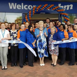 B&M Astle Park is formally opened by the Mayor of Sandwell, Councillor Barbara Price.