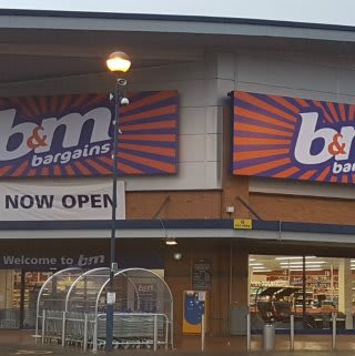 The new B&M Astle Park Bargains Store