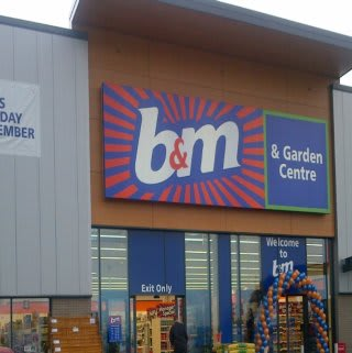 The new B&M Port Glasgow on opening day.