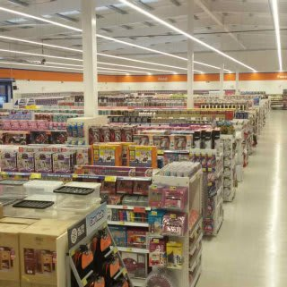 A first glimpse inside the brand new B&M Bodmin on opening day.