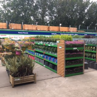 B&M's brand new store in Huntingdon boasts an extensive Garden Centre range, with garden buildings, aggregates, decking and artificial turf sold all year round.