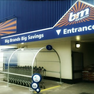 A first glimpse at the re-opened B&M Hucknall