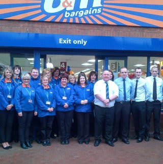 Berwick store opening with the new team.