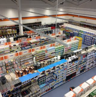 A first glimpse inside B&M's South Shields store, now open in its new location at Waterloo Square (former BHS).
