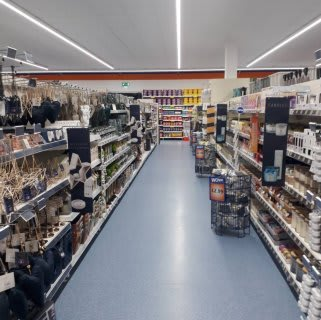 B&M's brand new store in Ilford stocks a charming range of home decor, including table lamps, light pendants and much more.