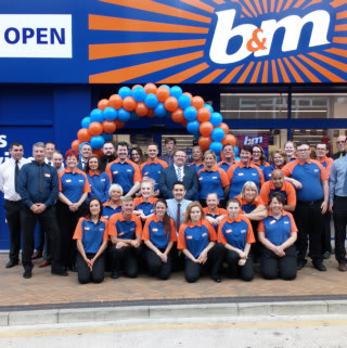 B&M Blackpool's store team can't wait to get their doors open and welcome their very first customers.