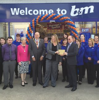 Bedworth store grand opening.