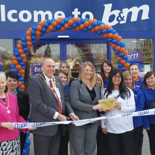Bedworth store opening.