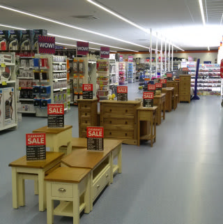 B&M's Furniture range has everything from dining tables and chairs, to bedroom wardrobes, drawers and much much more.