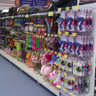 Shoppers at our new B&M Clifton (Nottingham) will we're barking mad for Pets! Our huge range includes everything from branded dog and cat food to toys, leads and collars.