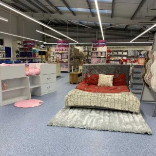 B&M's brand new store in Bingley stocks a huge range of quality furniture, everything from wardrobes and beds to coffee tables and dining sets.