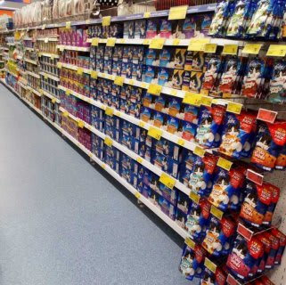 B&M's brand new store in Market Drayton stocks an amazing and ever-changing pet range, from dog and cat food to toys and pet bedding.