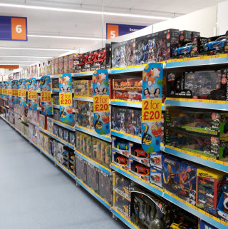 B&M's 2 for £20 Toys offer is in full swing at its new Darlington - Northgate store.