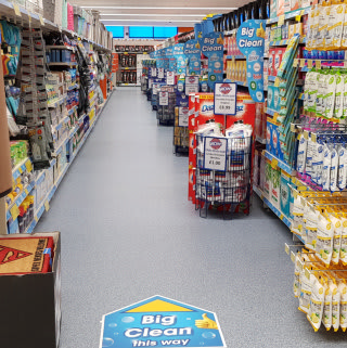B&M's Big Clean event is now on at its newest store, recently opened in Telford.