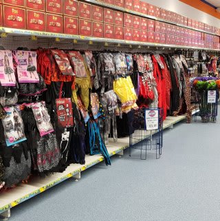 Check out the spooky Halloween range at B&M's newest store in Telford!