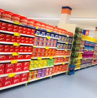 B&M's new store in Ballynahinch, County Down has everything you need from your shopping list, including a huge grocery selection.