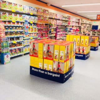 B&M's new store in Ballynahinch, County Down stocks an exciting range of kids toys and games.