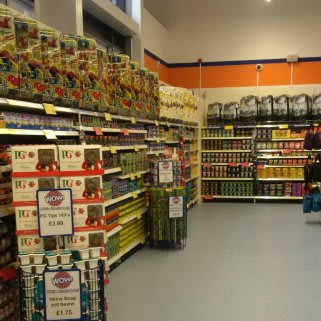 A first glimpse inside the brand new B&M Westwood on opening day.