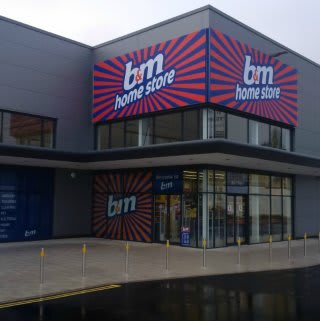 The new B&M Westwood store on opening day.