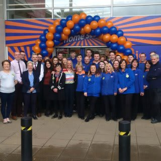 B&M Coleraine's store team are delighted with their improved store as they celebrate the grand re-opening at Riverside Retail Park.