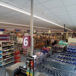 A first glimpse inside B&M's refurbished store in Willenhall, at Keyway Retail Park.