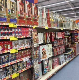 B&M's Christmas range is available at its new Stenhousemuir store, located on Tryst Road.
