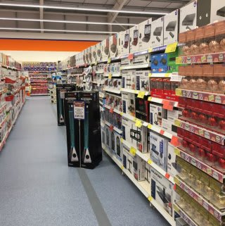 There's plenty of tech to get your teeth into at B&M's new Stenhousemuir store.